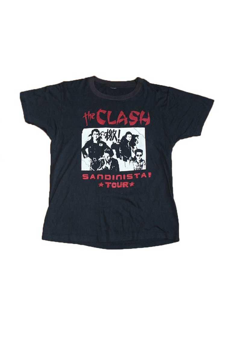 Vintage 80's The Clash Sandinista Tour T-Shirt - image 1