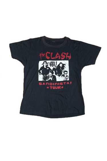 Vintage 80's The Clash Sandinista Tour T-Shirt