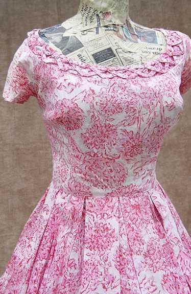 Nat Kaplan mum-print dress