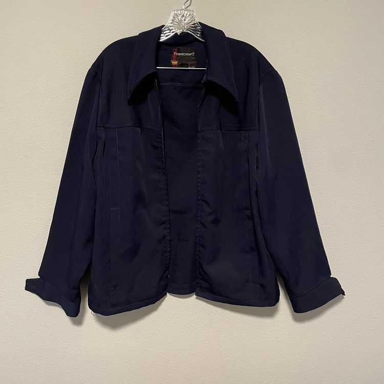 Vintage Vintage navy jacket - image 1