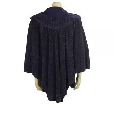 Vintage Bill Gibb Edwardian Inspired Cape 1970s