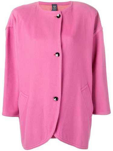 Emanuel Ungaro Pre-Owned 1980's curved midi jacket