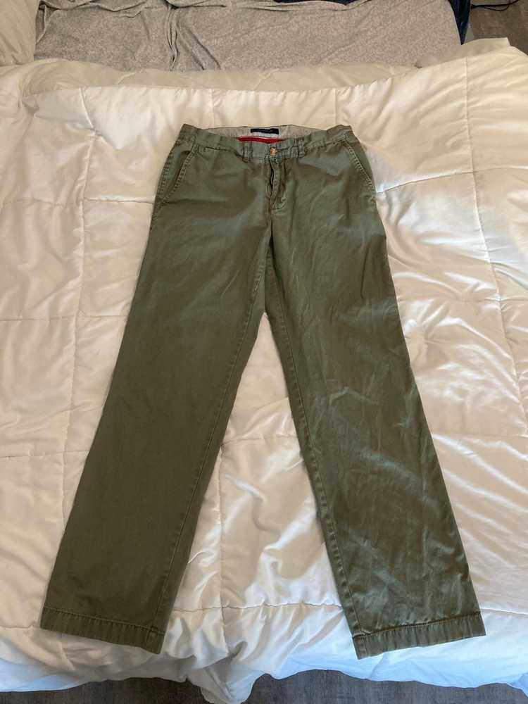 Tommy Hilfiger Tommy Hilfiger Military Green Chin… - image 1