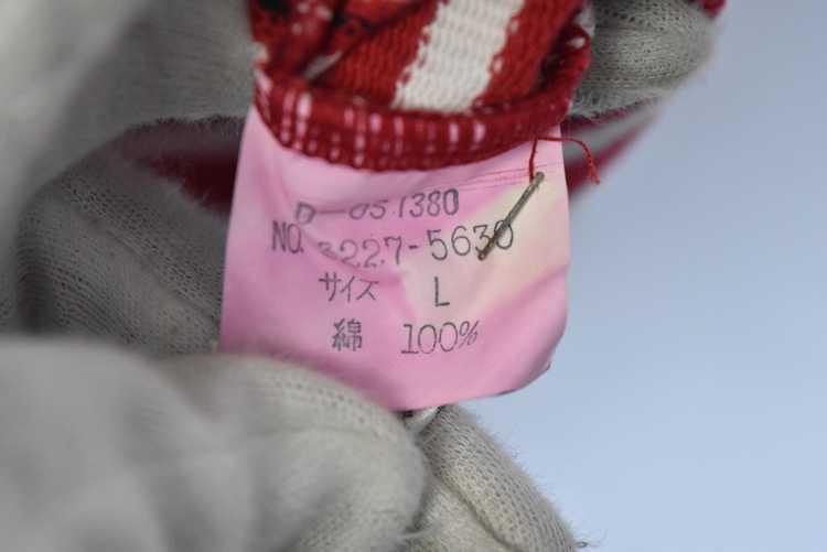 Issey Miyake ISSEY MIYAKE 90s old stripe polo shi… - image 7