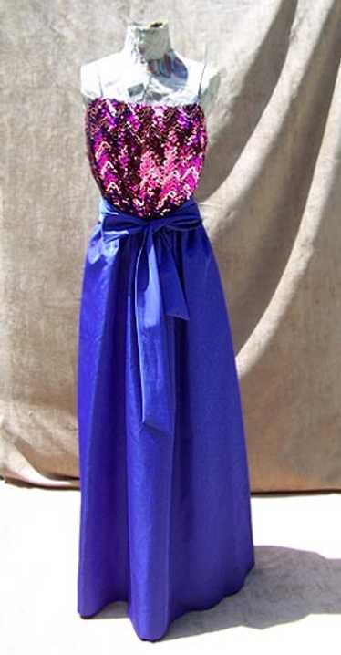 Miss Elliette sequin gown
