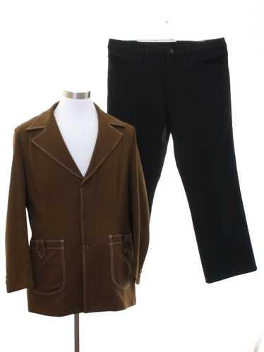 1970's Jantzen Mens Combo Leisure Suit