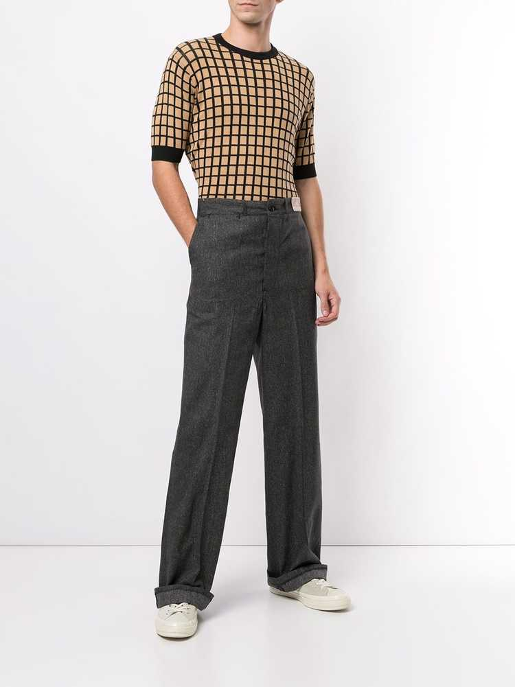 Fake Alpha Vintage 1940s tailored long trousers -… - image 3