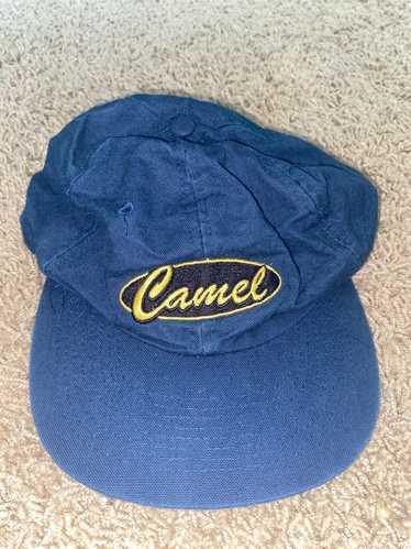 Camel × Vintage Vintage Navy Blue Camel Hat