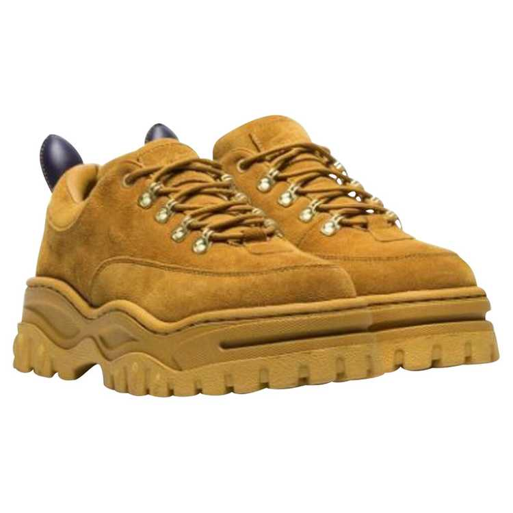 Eytys Trainers Suede in Yellow - image 1