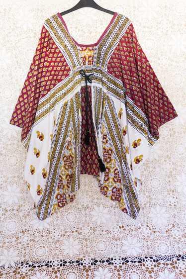 Patchwork Kaftan Dress