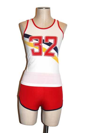 1970's Boys running suit