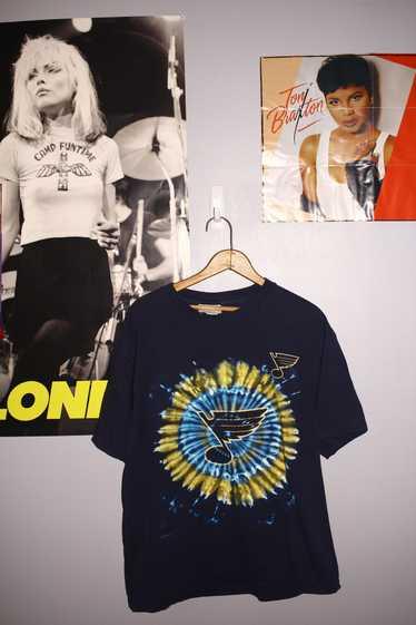 Csa × Vintage Y2K St. Louis Blues Tie Dye T-Shirt - image 1