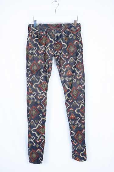 Kapital Kapital Native Pattern Corduroy Pants