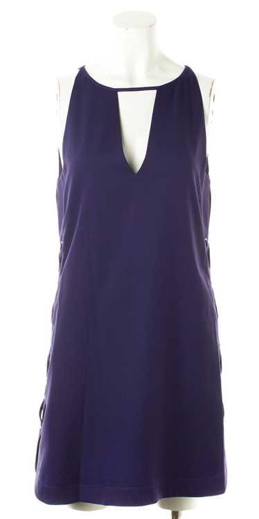 PARKER Purple Mini Dress Size XS