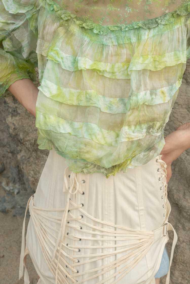 Algae Antique Victorian Blouse - image 3