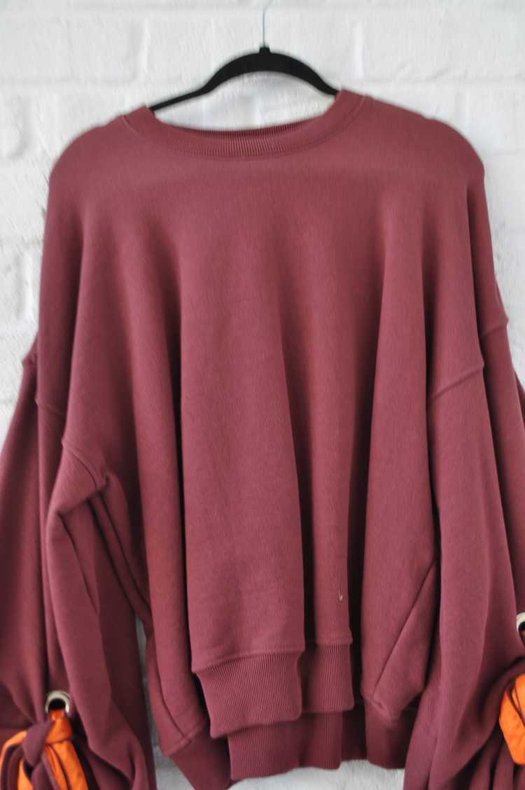 Y/ Project sweater with puffy sleeves - image 4