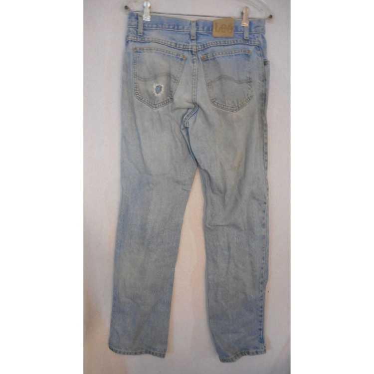 Lee Vintage Lee Jeans flat front denim jeans 1980… - image 3