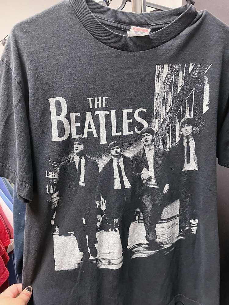 Band Tees × Rock Tees × Vintage Vintage Y2K Beatl… - image 2