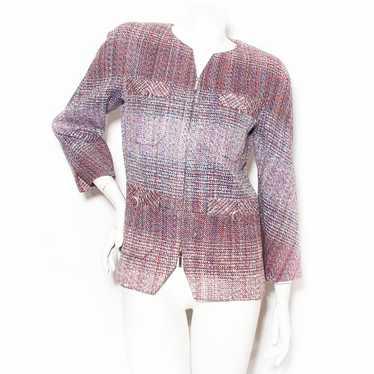 Chanel Pixel Tweed Jacket