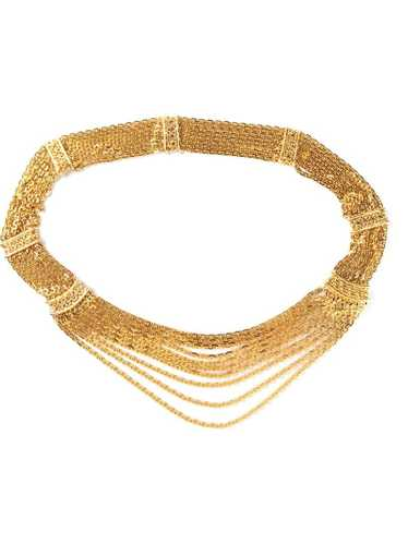 Chanel Pre-Owned - chain belt - women - Metal (Oth