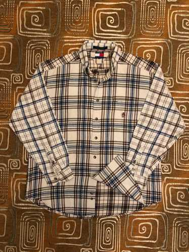 Vintage Flannel Shirt  80/'S  90/'S   By TOMMY HILFIGER   Never Worn