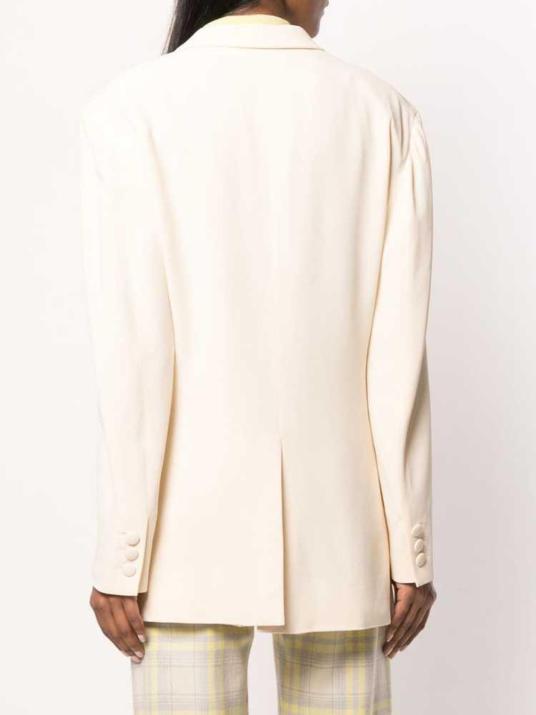 Moschino Pre-Owned 1990's tailored blazer - Neutr… - image 4