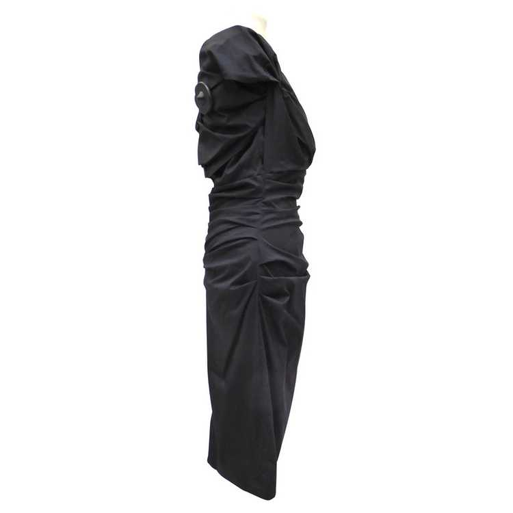 Talbot Runhof Dress with Ruffles - image 2