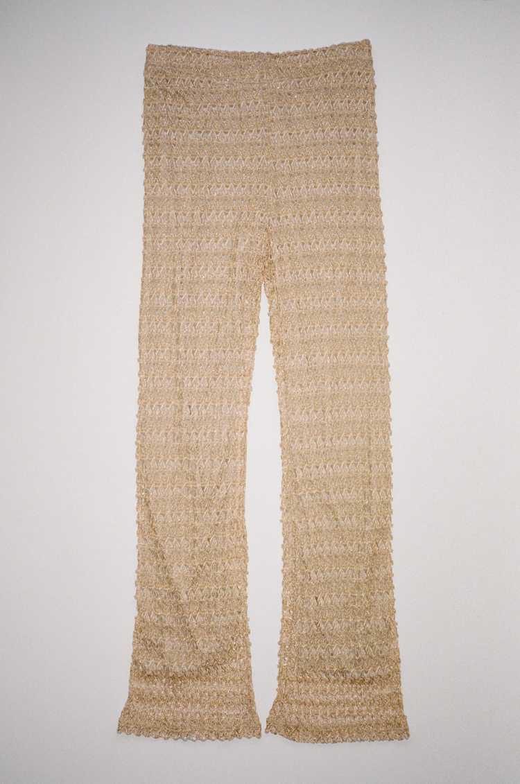 Knit Textured Pants sz M - image 2