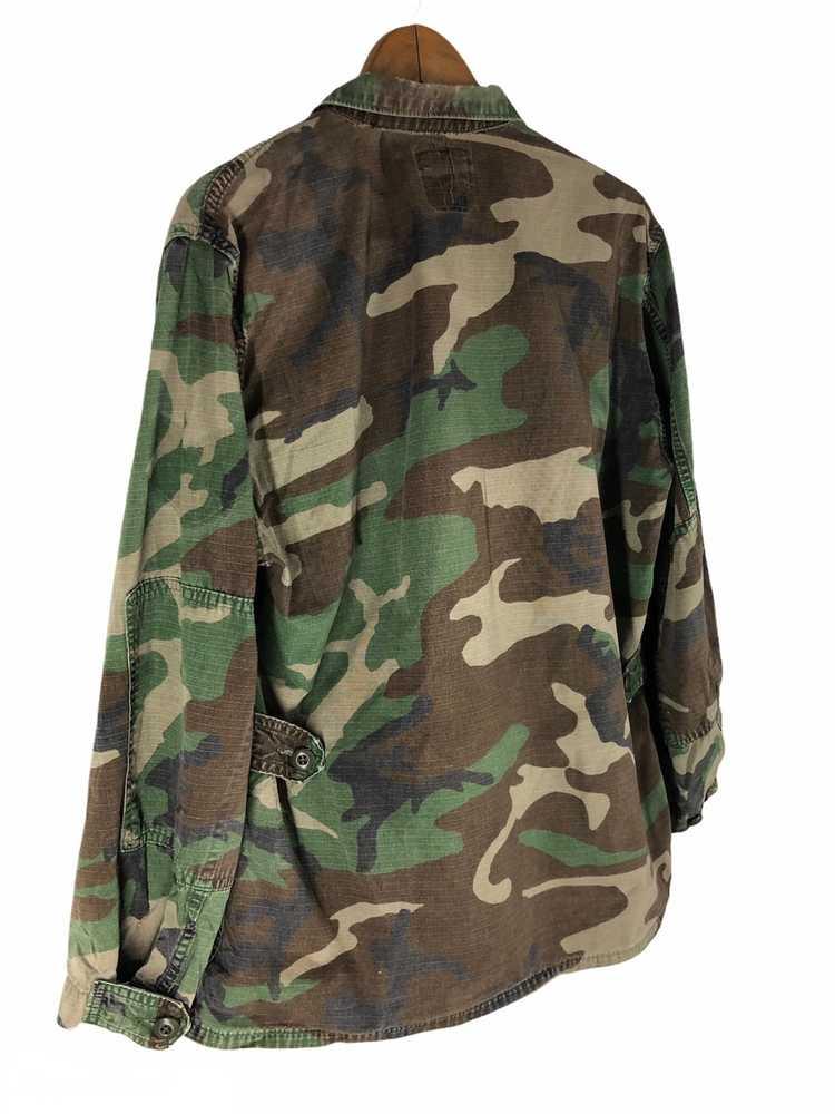 Camo × Military Vintage Military Camo Jacket - image 3