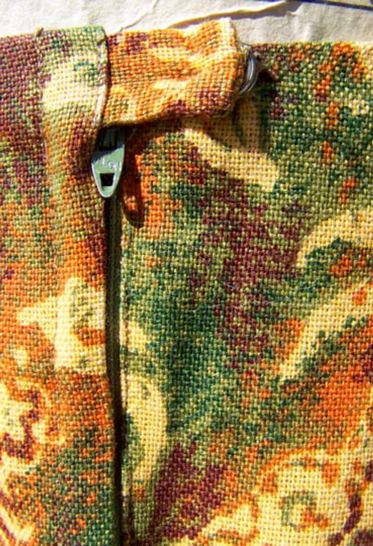 Cotton twill pencil skirt - image 3