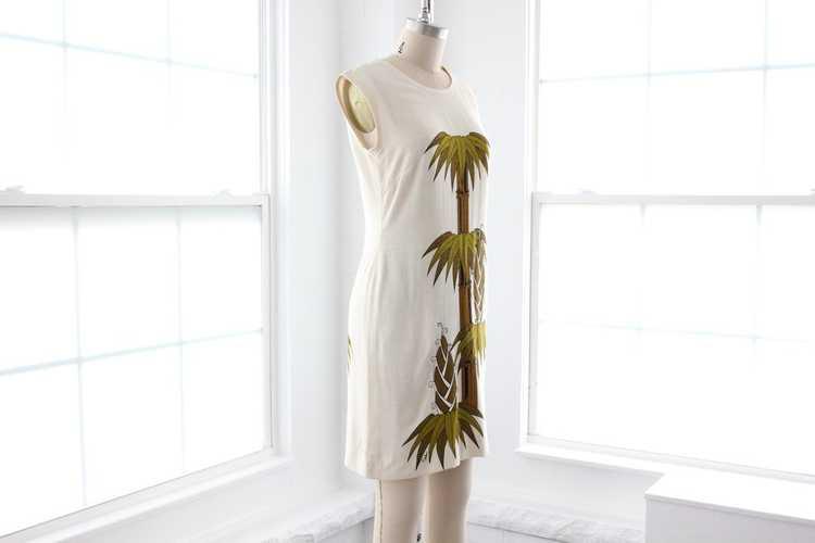 70s Shaheen Shift Dress - image 3