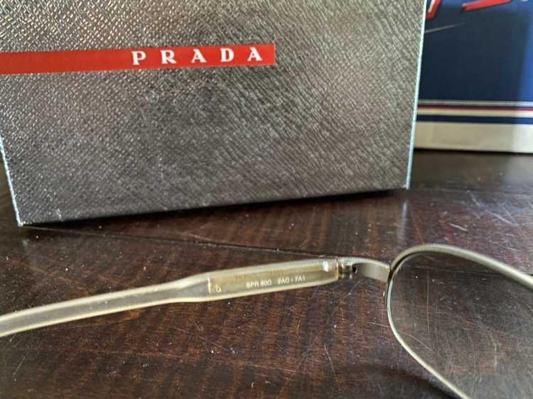 Prada × Vintage Vintage 1990's Prada sunglasses - image 4