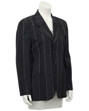 Matsuda Grey Pin Stripe Blazer
