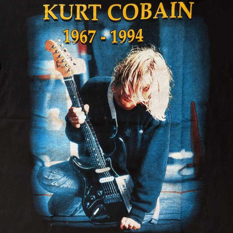 Vintage Nirvana Kurt Cobain T-shirt - image 3