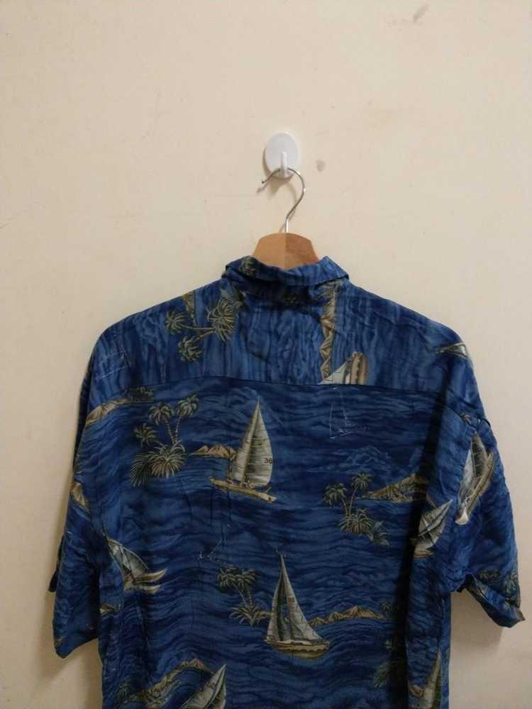 Vintage Vintage Campia hawaiian blue Shirt Hawaii… - image 4