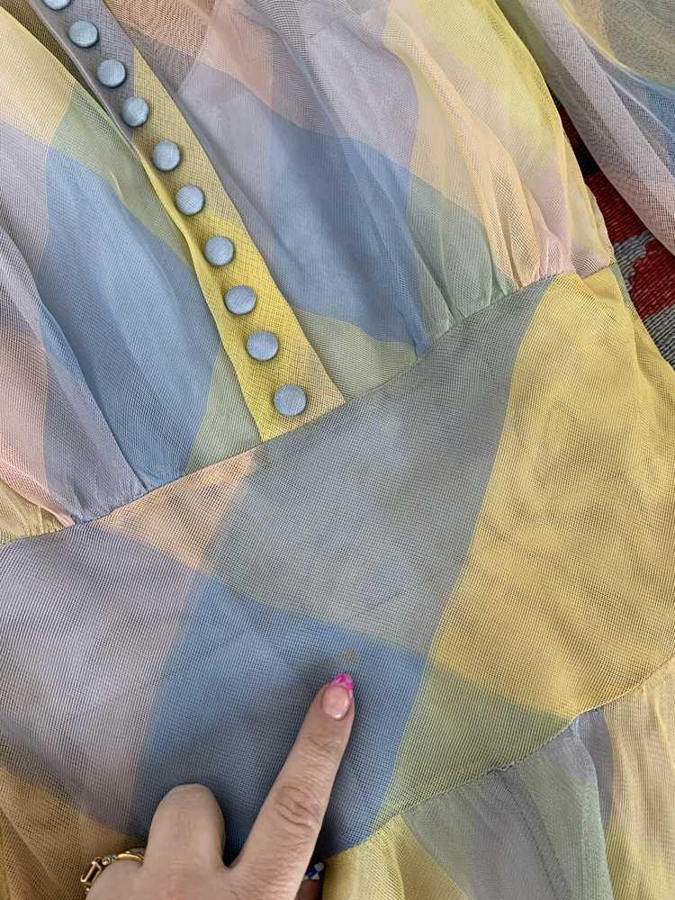 RARE 1940s Ceil Chapman Gown - image 13