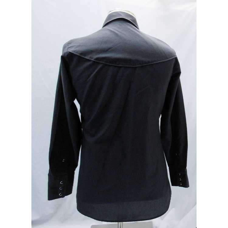 Other Kenny Rogers M Black Long Sleeve Western Sh… - image 2