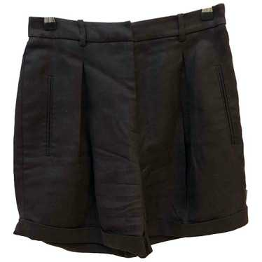 Versace Brown Cotton Shorts for Women 42 IT