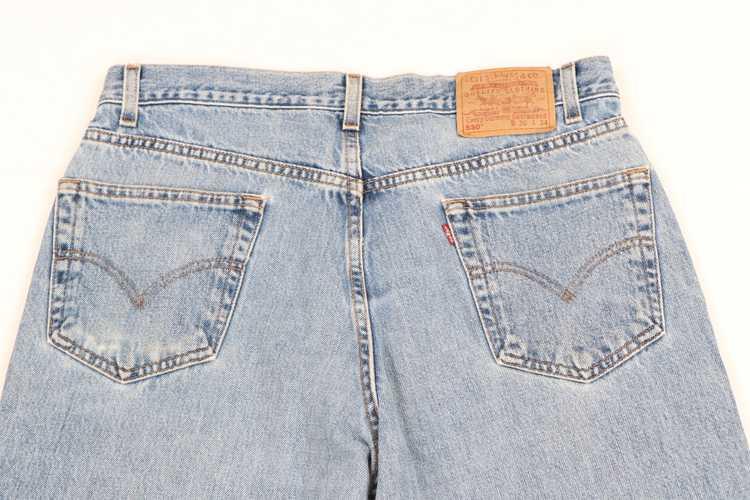 Levi's × Vintage Vintage 90s Levis 550 Relaxed Fi… - image 8