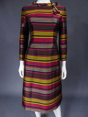 Jeanne Lanvin Couture dress numbered 80349 Circa 1