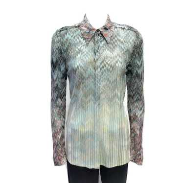 Missoni Multicolor Knit Blouse
