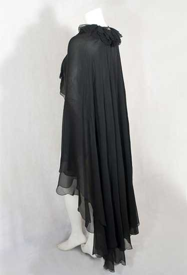 Chiffon evening cape, 1930s