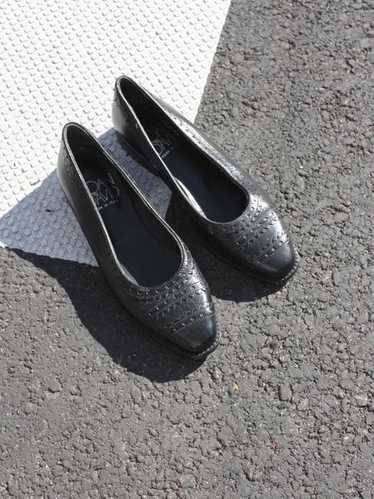 Tooled Leather Flats (6)