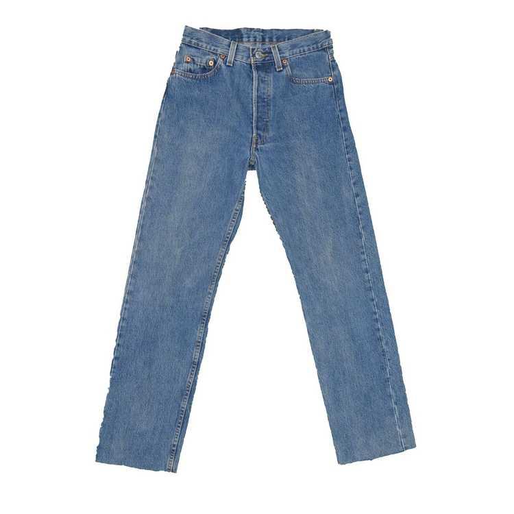 Levi's × Vintage 1990s Vintage Levis 501 Jeans 27… - image 2