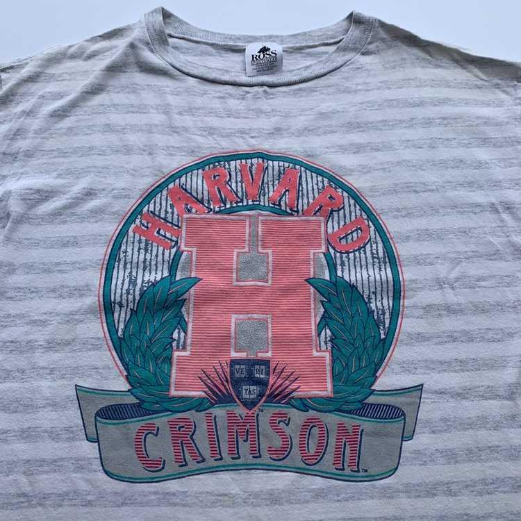 Vintage vintage 90s harvard crop top - image 2