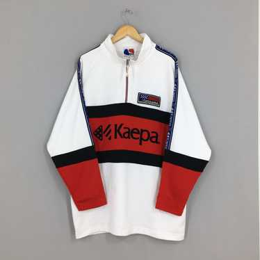 KAEPA Track Colorblock Jacket Vintage 90s Kaepa Sports Sportswear Sweater Track Jacket Size LXL