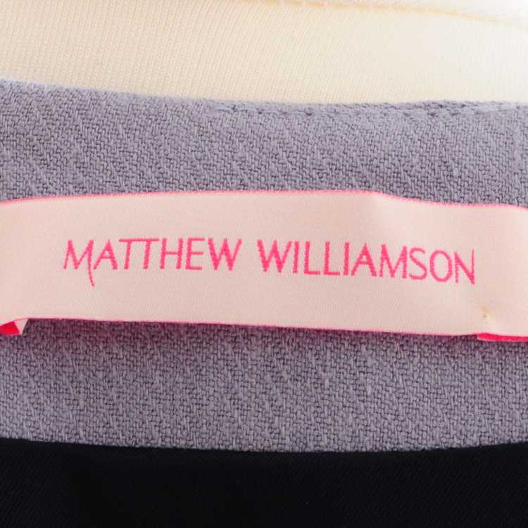 Matthew Williamson Dress in lilac - image 5