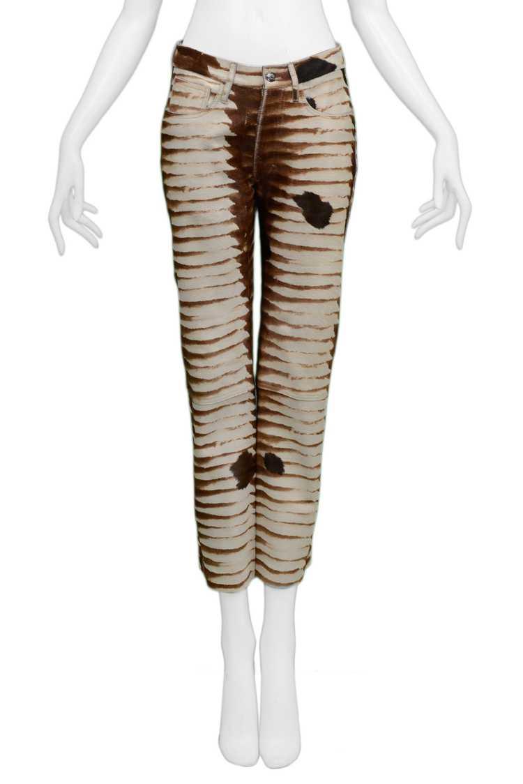 FENDI ANIMAL PRINT PANTS 1999 - image 3
