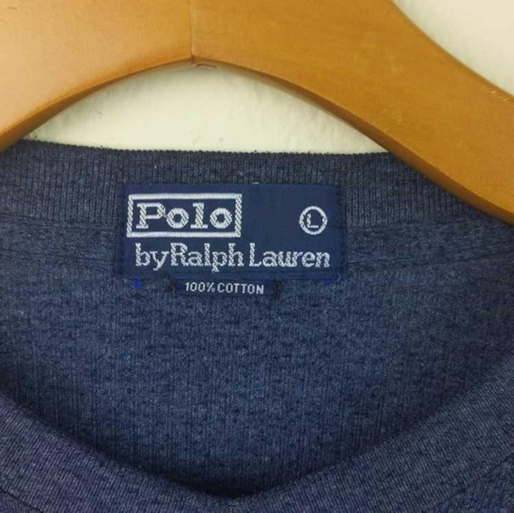 Polo Ralph Lauren VTG 80s Polo By Ralph Lauren Bl… - image 3