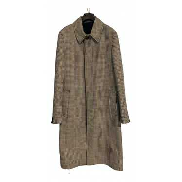 Alexander Mcqueen Multicolour Cotton coat for Men